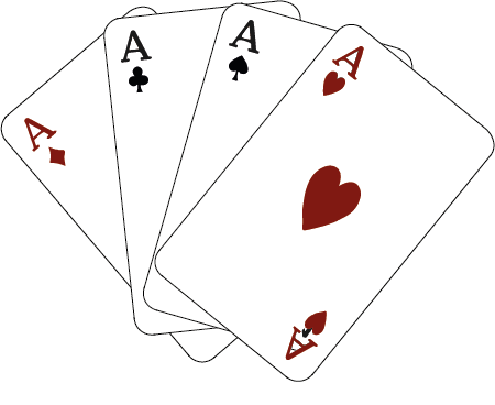 cartes à jouer as pique carreau coeur trèfle
